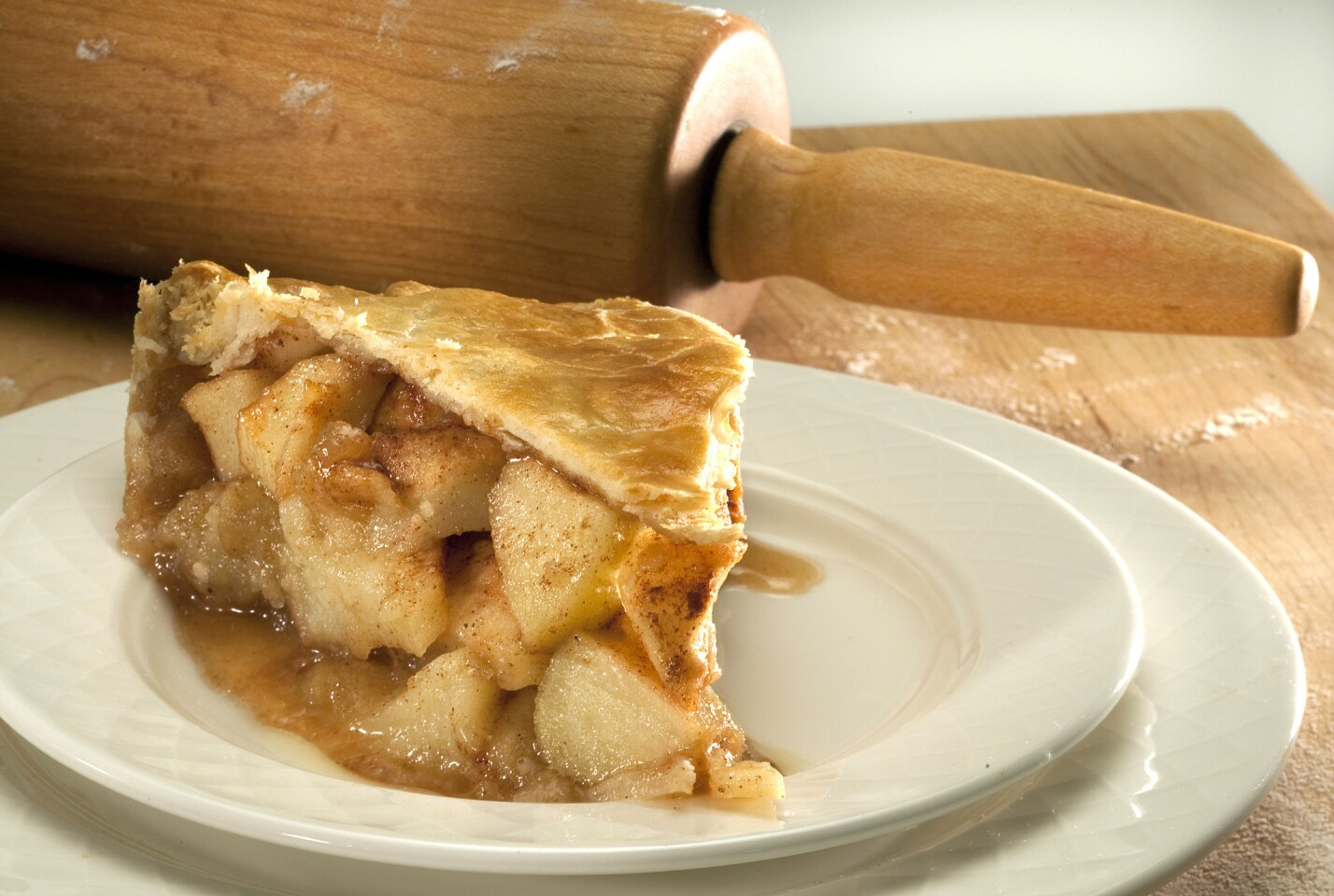 Cut into it and this award-winning apple pie is all about the fruit, generous hunks of gently baked apple, its pure, clean flavor enhanced by a sweet, spicy glaze. Click here for the recipe.