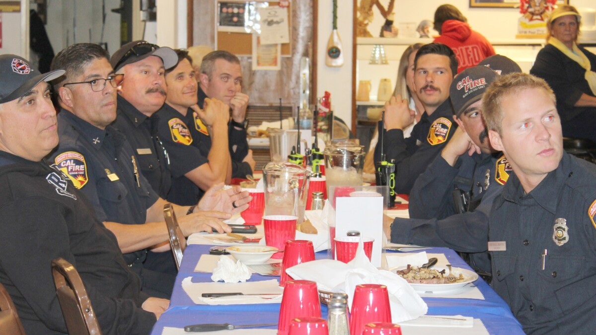 Vfw Honors First Responders At Awards Dinner Ramona Sentinel