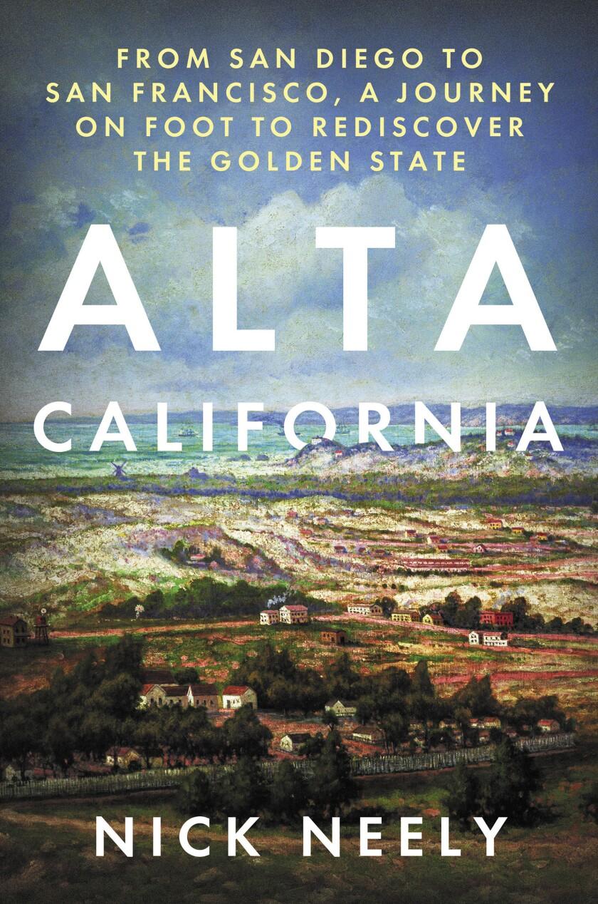 """Alta California"" book cover"