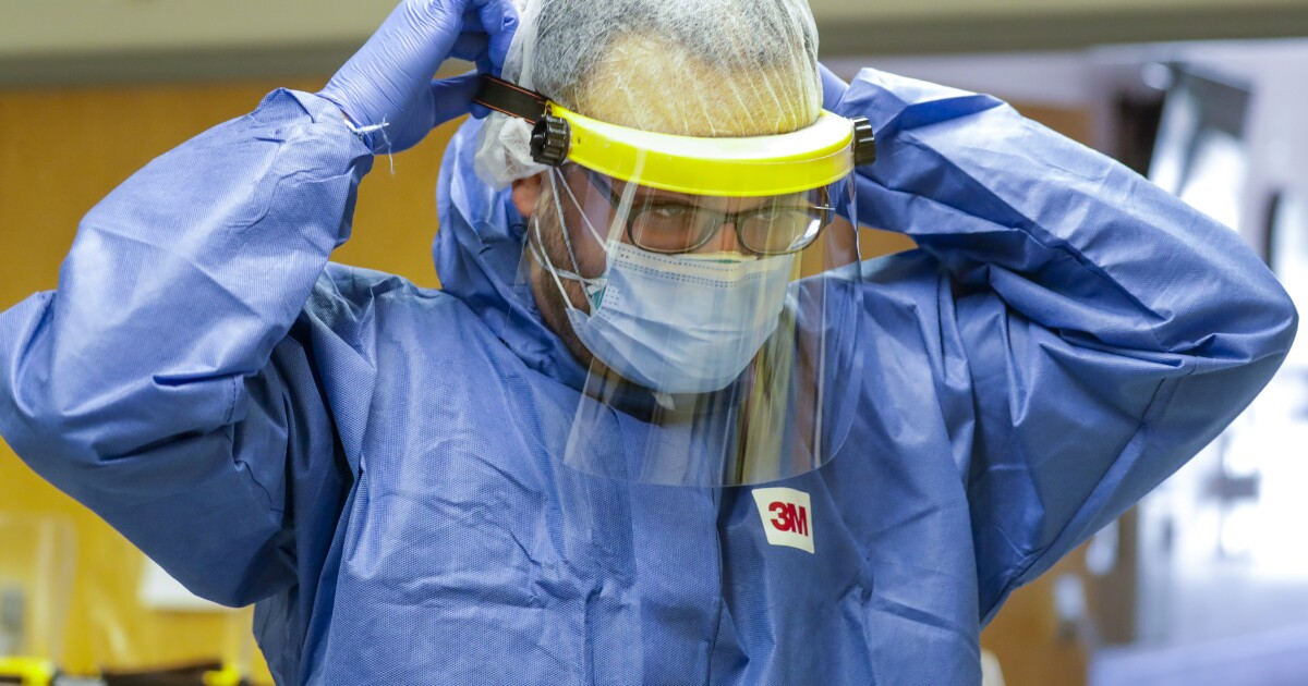 Why face shields boost coronavirus mask efficiency - Los Angeles Times