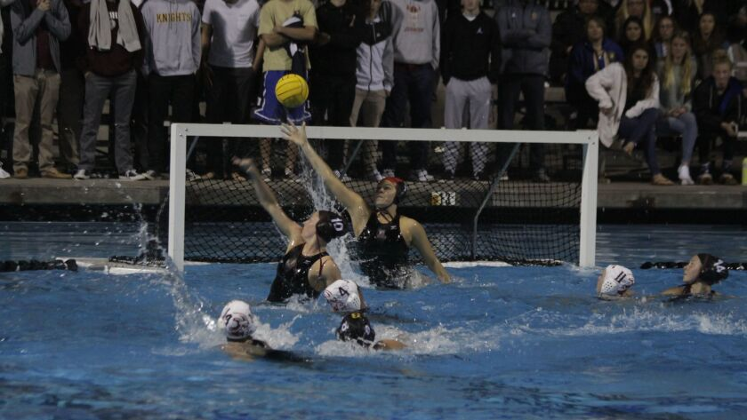 Bishop's goalie Cassidy Ball is instrumental to the victory, blocking numerous attempts at the goal.