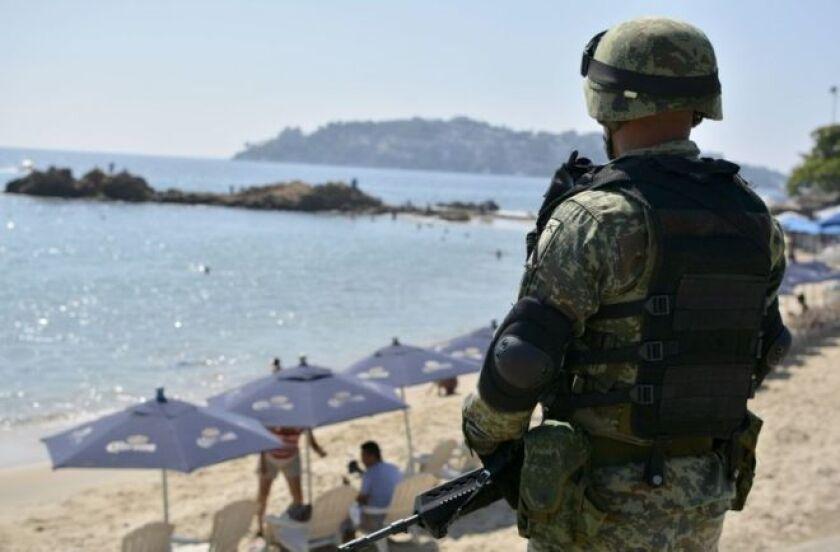 Para Estados Unidos, los viajeros que visiten los estados mexicanos de Tamaulipas, Sinaloa, Colima, Michoacán y Guerrero se exponen a peligros equivalentes a los de zonas en guerra como Yemen, Somalia, Siria o Afganistán.