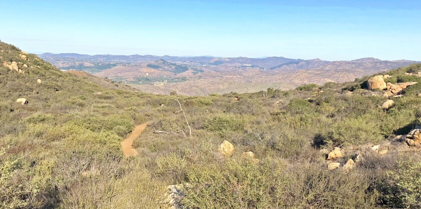 Old Survey Road 97 Trail is open to visitors from 8 .m. to sunset on weekends through Nov. 15 on a permit basis.