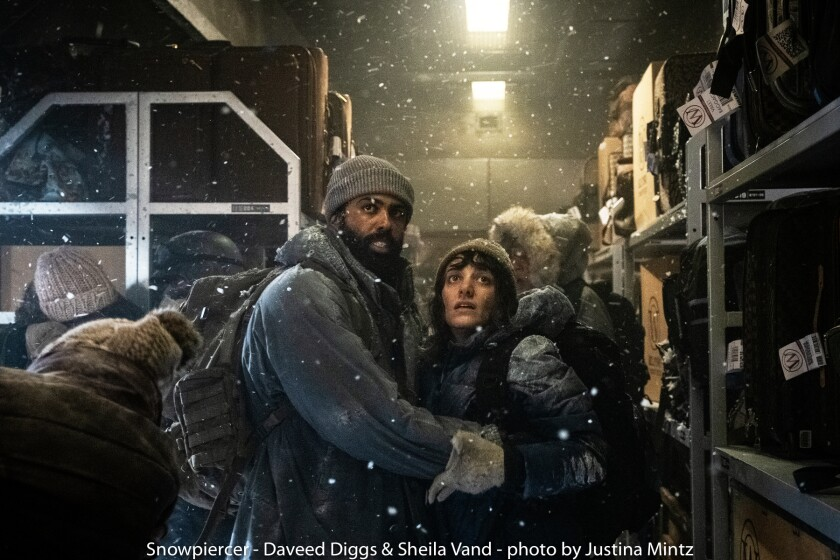 Daveed Diggs and Sheila Vand