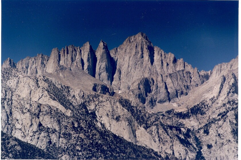 Authorities are searching for a 60-year-old hiker who has not been seen since Saturday. He was hiking on Mt. Whitney with two others.