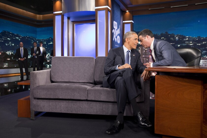 Barack Obama, Jimmy Kimmel
