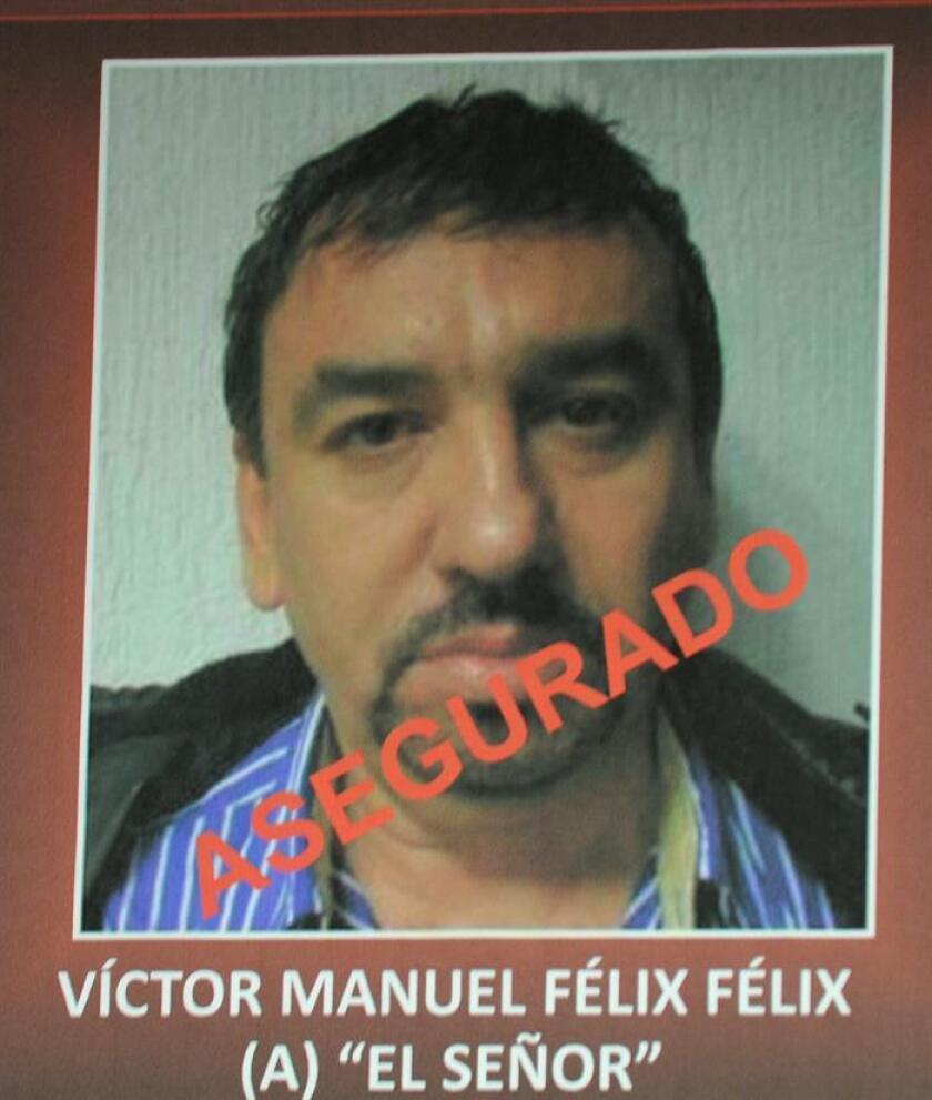 """El mexicano Víctor Manuel Félix Félix, consuegro de Joaquín """"el Chapo"""" Guzmán, acudió hoy en San Diego (California) a una audiencia en una corte federal y solicitó más tiempo para evaluar la evidencia criminal en su contra. EFE/SSPF/ARCHIVO/"""