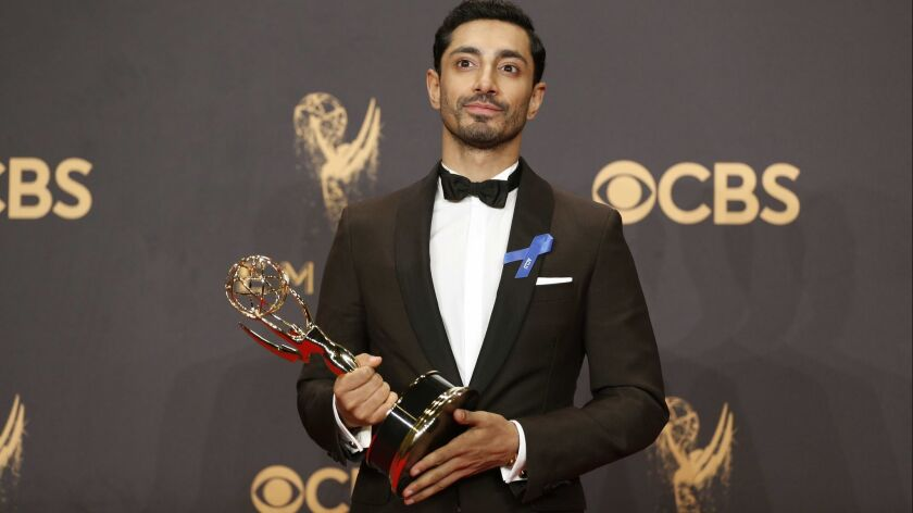 LOS ANGELES, CA., September 17, 2017: Actor Riz Ahmed accepts the Outstanding Lead Actor in a Limi