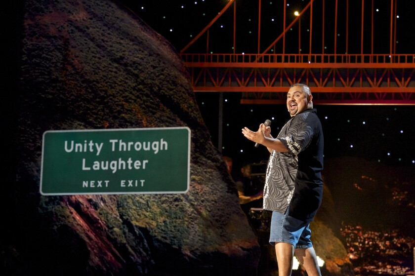 """Stand-up comedian Gabriel Iglesias in """"The Fluffy Movie."""""""