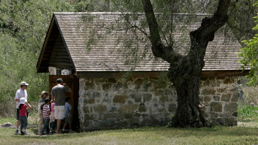 The Rancho Penasquitos adobe ranch house is the second oldest residence in the county.