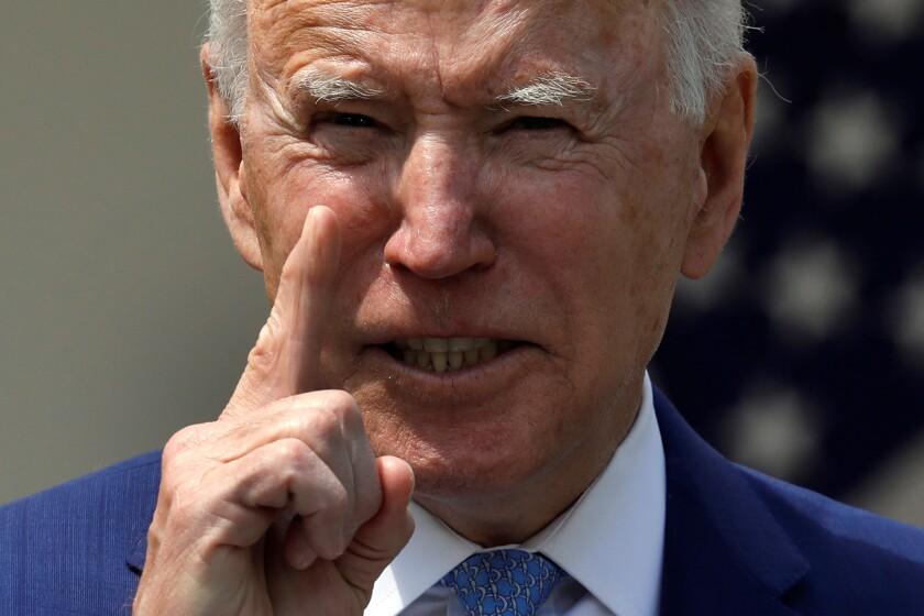 El presidente de EEUU Joe Biden.
