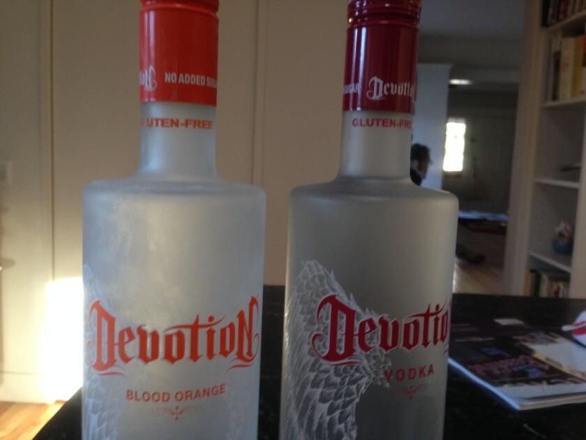 Even vodka gets a gluten-free label.