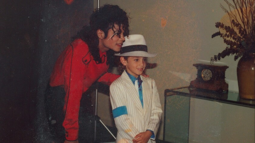 """A still from """"Leaving Neverland"""" by Dan Reed, an official selection of the Special Events program at"""