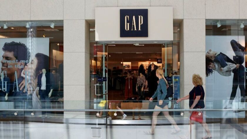 A Gap store in Pittsburgh. The company said it would become two independent companies.