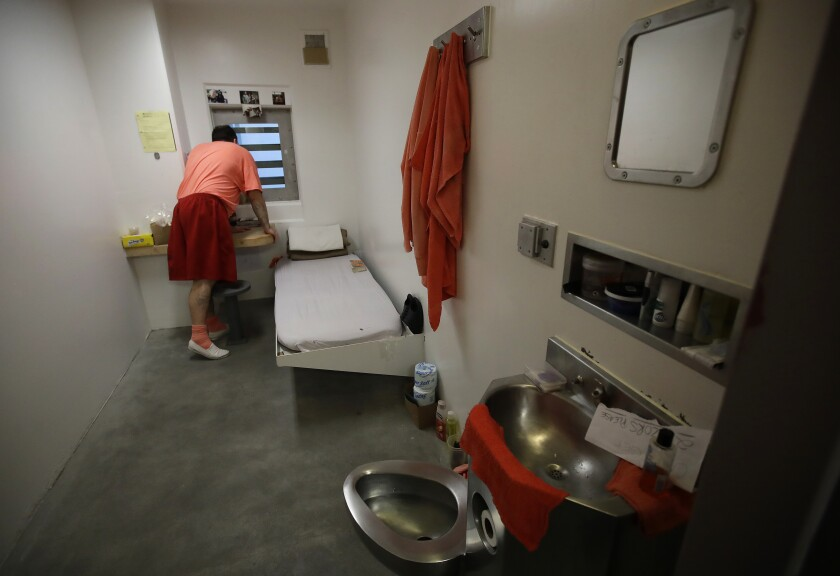 California jails solitary confinement