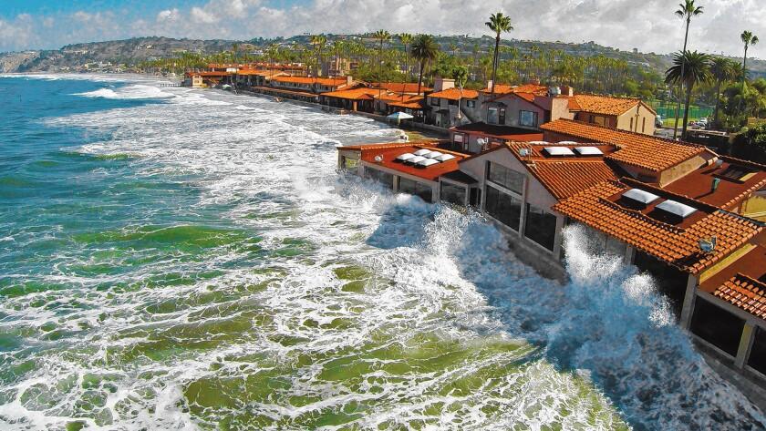 A King High Tide 'hits' The Marine Room, 2000 Spindrift Drive, La Jolla. (858) 459-7222, marineroom.com