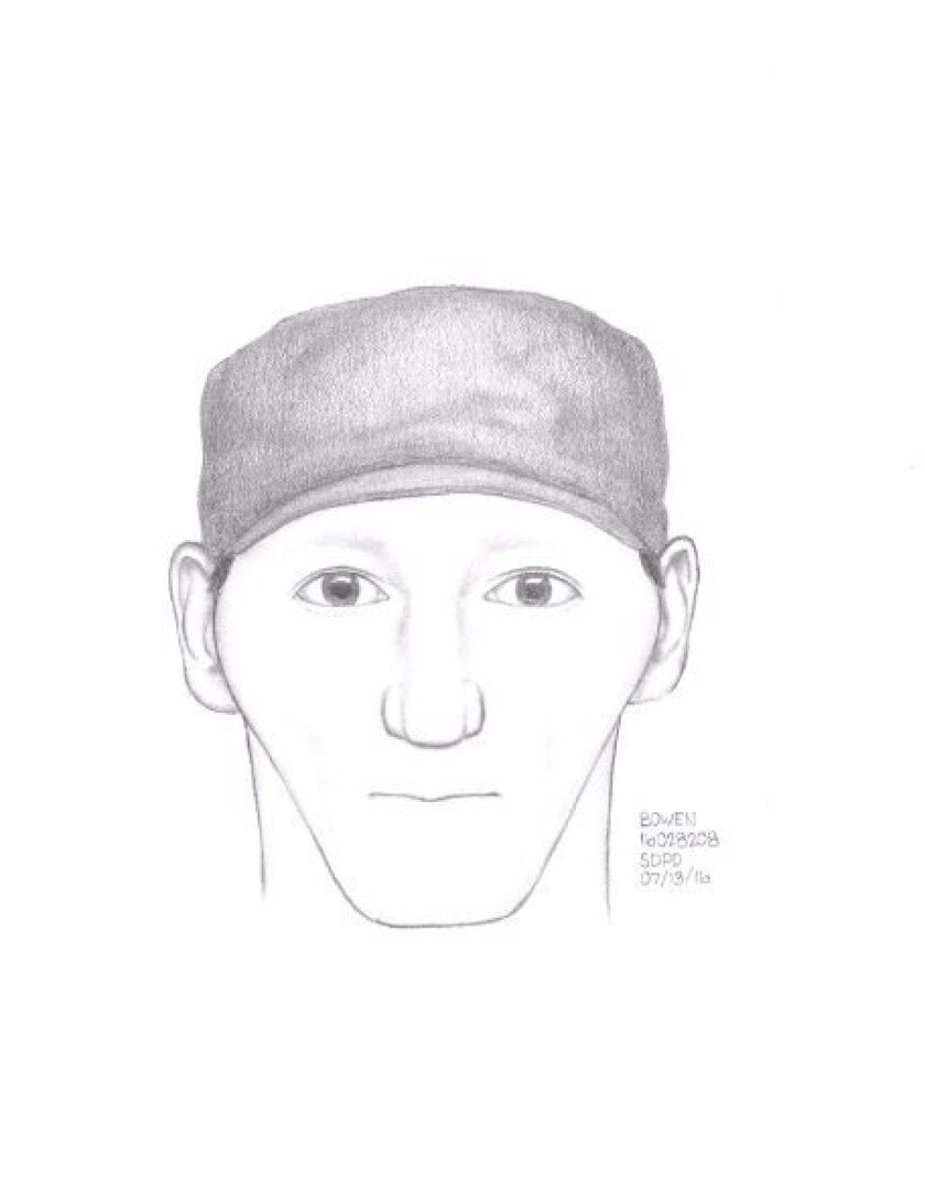 San Diego police released a sketch of the serial killer responsible for a string of violent attacks on homeless people.