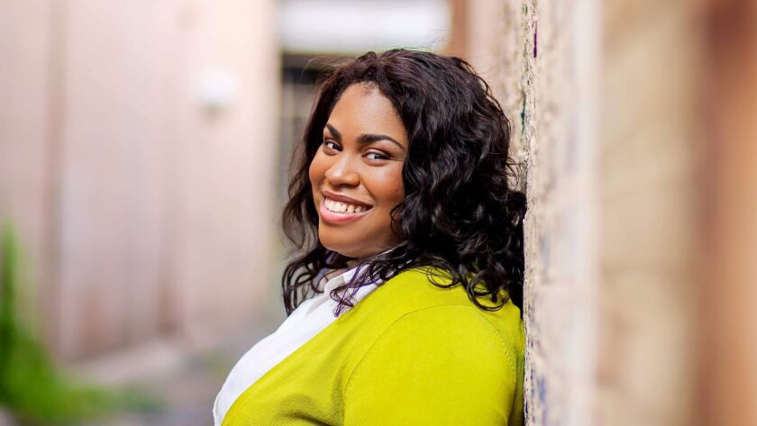 "Angie Thomas, author of ""The Hate U Give"""