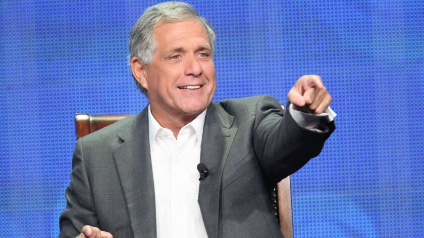 This publicity image released by CBS shows Leslie Moonves, President and Chief Executive Officer for