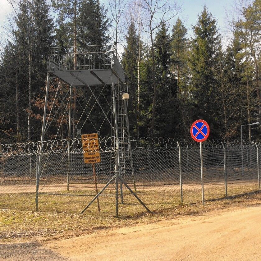 A remote intelligence training base in Stare Kiejkuty, Poland, was used by the CIA to interrogate terrorism suspects in late 2002 and 2003.