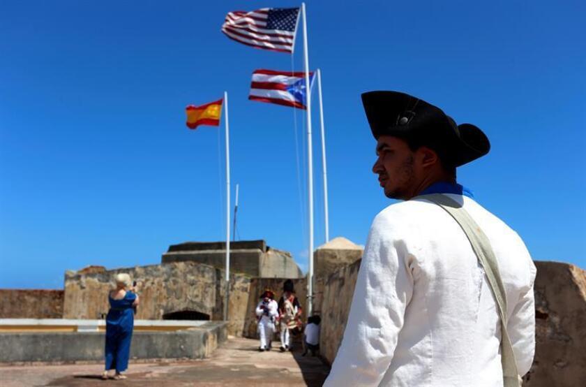 Fotografía de archivo del castillos San Felipe del Morro en San Juan. EFE/Archivo