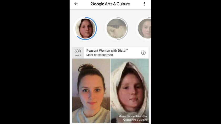 The selfie feature on Google's Arts & Culture app is not available in Illinois, and experts say that's likely because of the state's strict biometrics laws. She doesn't know how, but Lakeview resident Laura Wagner, 29, was able to access the feature over the weekend. These are the results.