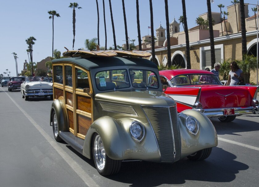 "Cruising at the 15th edition of the Goodguys Rod & Custom Association's ""Meguiar's Del Mar Nationals."""