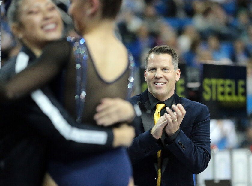 Chris Waller is the new UCLA gymnastics head coach.