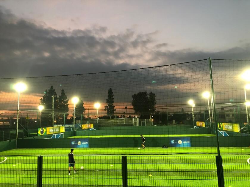 Goals Soccer Center en Covina