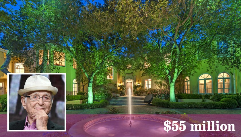 TV producer, writer and show creator Norman Lear has listed his estate in Brentwood at $55 million.