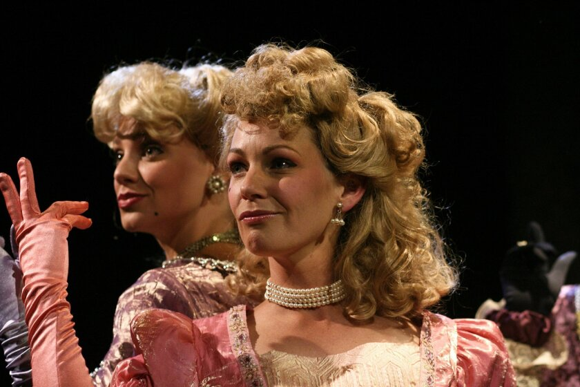 """Sunny Smith and Susanna Kurner in """"Into the Woods."""""""