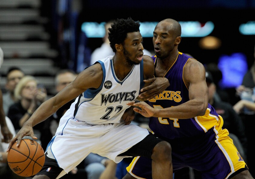 Kobe Bryant a muted presence in Lakers' 123-122 overtime loss at Minnesota