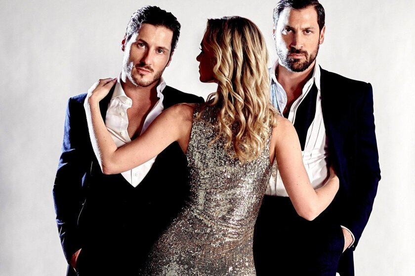 "Val (left) and Maks Chmerkovskiy are reuniting on the dance floor with their own tour: ""Maks and Val Live On Tour: Our Way."""