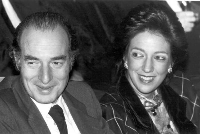 Marc Rich and his wife, Denise Rich, in 1986. Rich fled from the United States to Switzerland in 1983 after he was indicted by a U.S. federal grand jury.