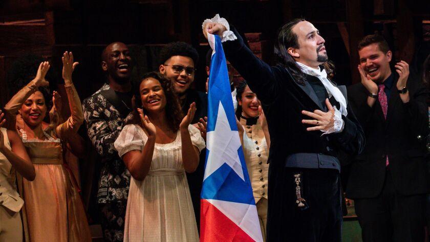 'Hamilton' in Puerto Rico: Lin-Manuel Miranda brings his mega-musical to his parents' troubled homeland