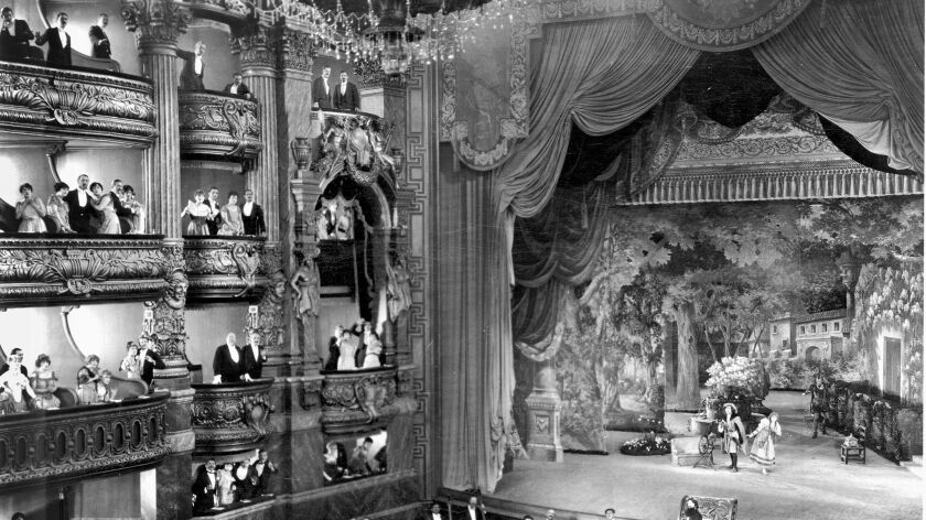 "A photo of Universal Studios' Stage 28, which was custom built for ""The Phantom of the Opera,"" in Universal City, Calif. in 1924."
