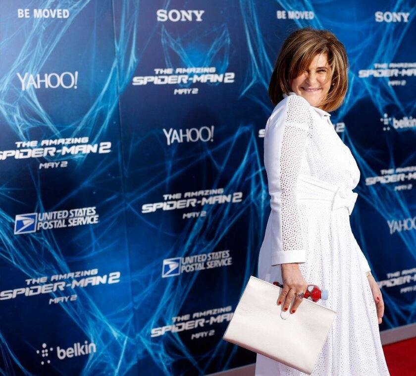 Amy Pascal is stepping down as co-chairman of Sony Pictures only a couple of months after her e-mail account leaked online