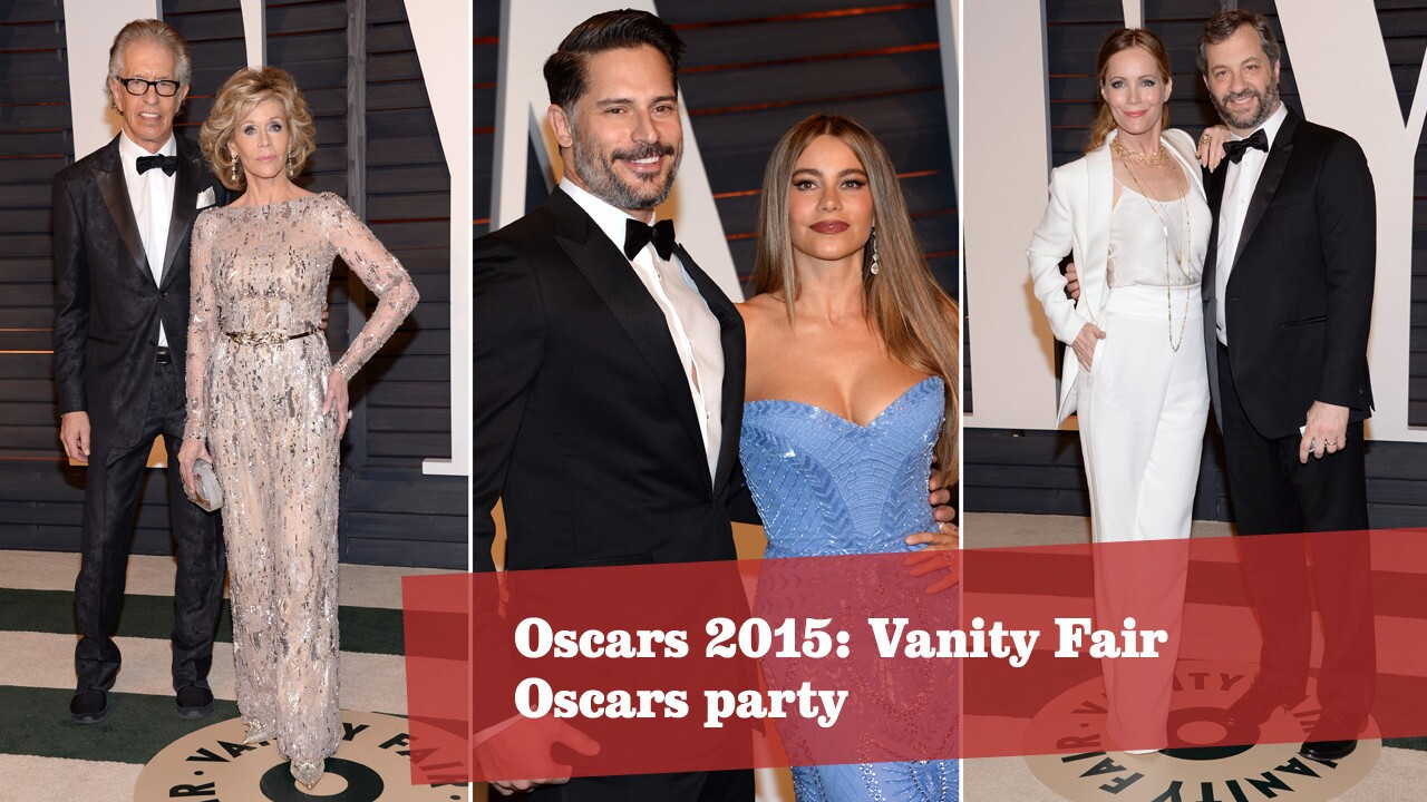 Oscars 2015: Vanity Fair party