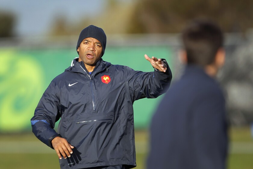 Japan Rugby WCup France Ntamack's Rise