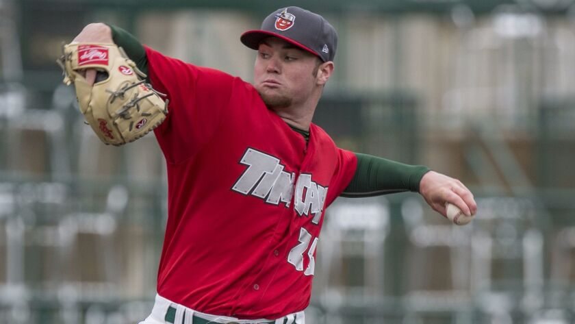 Padres pitching prospect Logan Allen is beginning 2016 at low Single-A Fort Wayne.