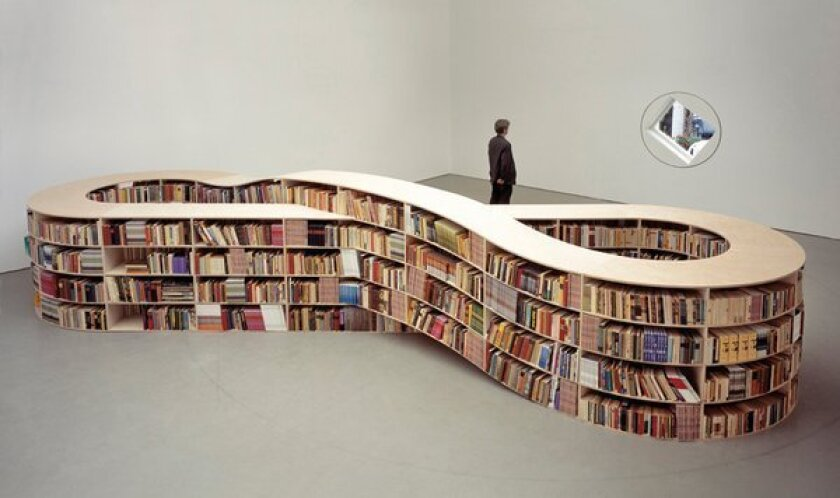 The weight of books