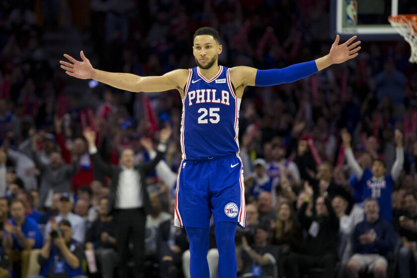 outlet store 67ef8 de44d Ben Simmons, 76ers reportedly agree to $170-million, five ...