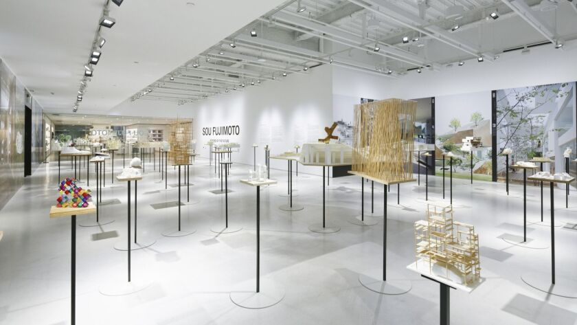 Sou Fujimoto: FUTURES OF THE FUTURE exhibitoin at JAPAN HOUSE Los Angeles
