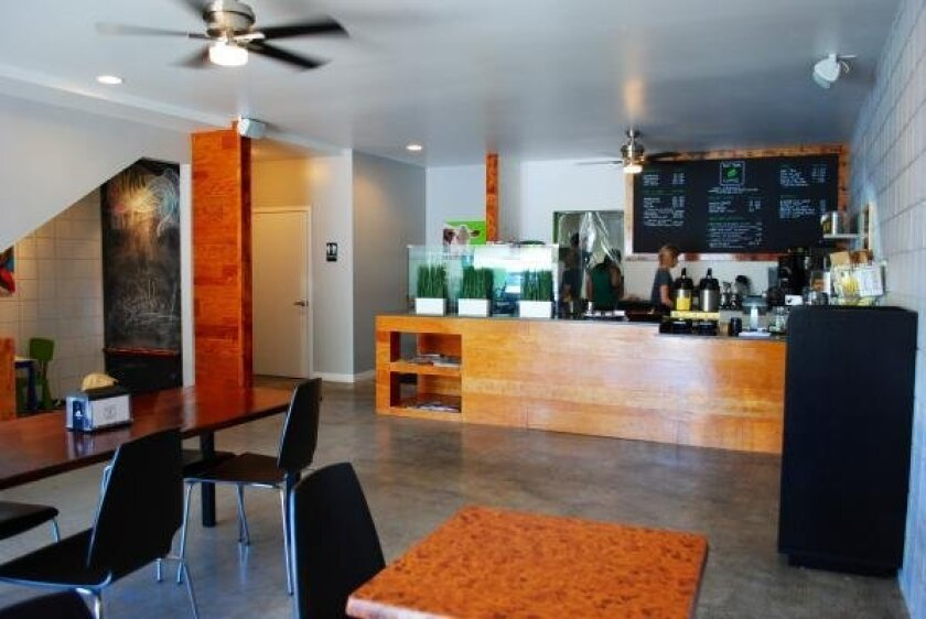 """This coffee shop near Mission Bay Park is listed for $52,500 on BizBen.com. The ad says all the coffees and teas are organic or Fair Trade Certified and the business is """"great for mom & pop ownership."""""""