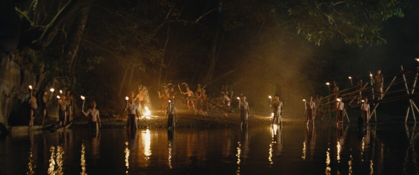 "This image released by Samuel Goldwyn Films shows a scene from ""Edge of the World."" (Samuel Goldwyn Films via AP)"