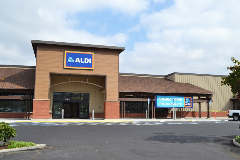 The Poway Aldi will open in November.