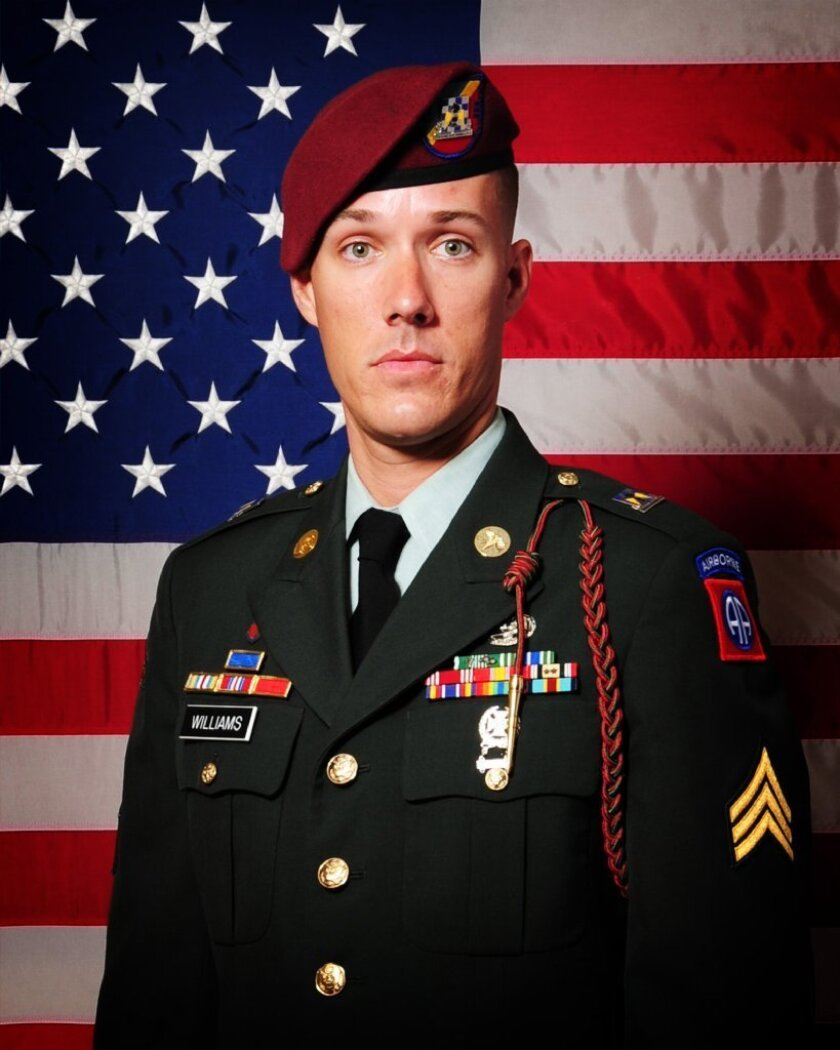 Sgt. Eric E. Williams died July 23, 2012, in Pul-E Alam, Afghanistan.