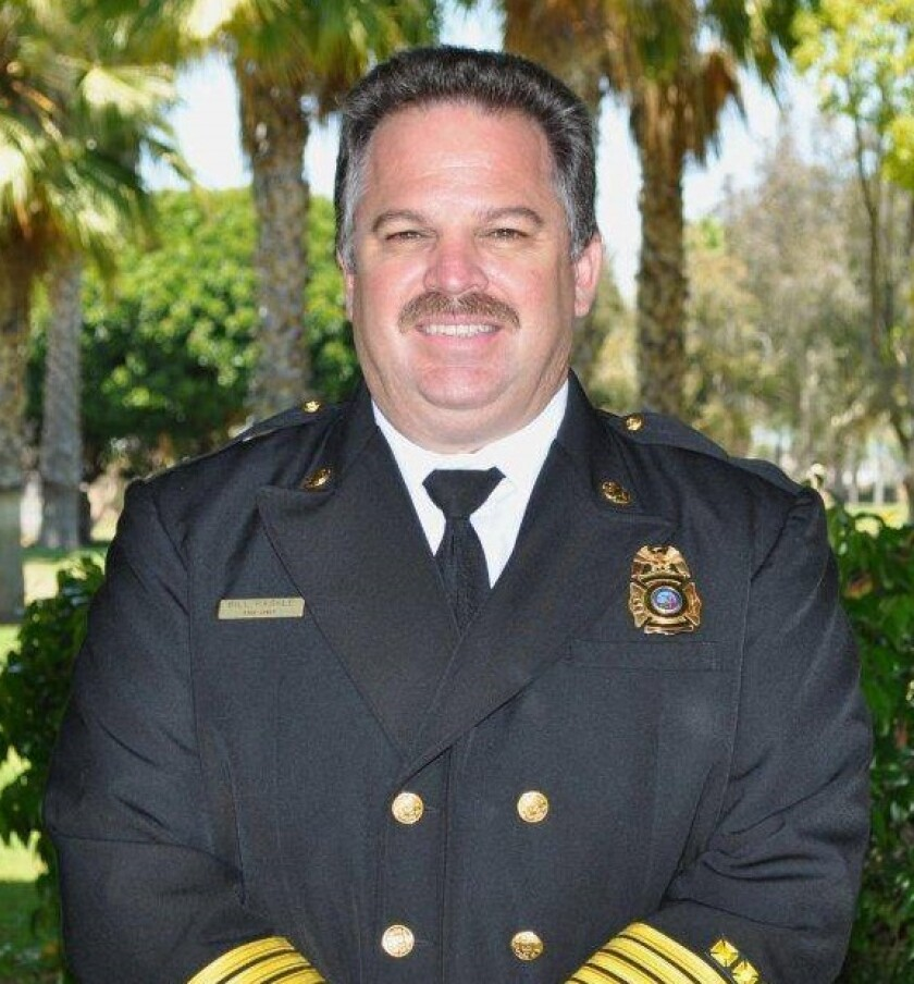 Alpine Fire Protection District Chief Bill Paskle is retiring at the end of 2019.