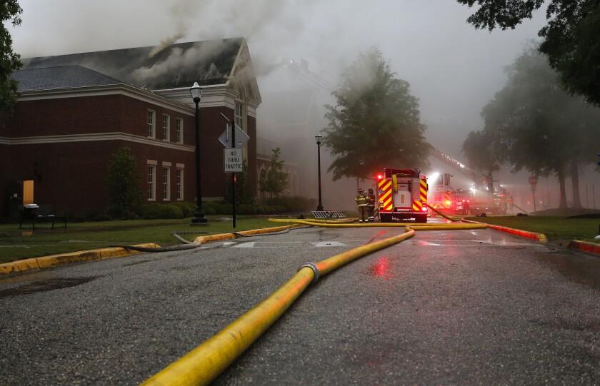 Moody Music Hall Fire