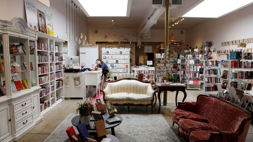 The interior of the Ripped Bodice in Culver City